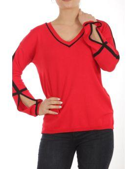 Μπλούζα με ρέλια - 21063
